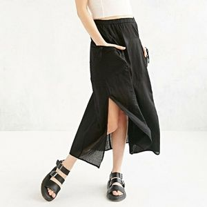 Staring at Stars Anthropologie Split Side Skirt L